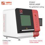 01 FY1015 Gold Metal Sheet Cutter Precision Fiber Laser Cutting Machine_cutting size and power