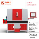 05 FY5030 sheet and tube laser cutter-1000X1000-01_cutting size and power