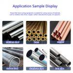 1000X1000 Metal tube pipe SUS copper aluminum NdFeB fiber laser cutting machine-02